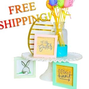 Easter Tiered Tray Wooden Decor Bundle